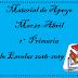 Material de Apoyo (Marzo-Abril) 1° Primaria Ciclo Escolar 2018-2019.