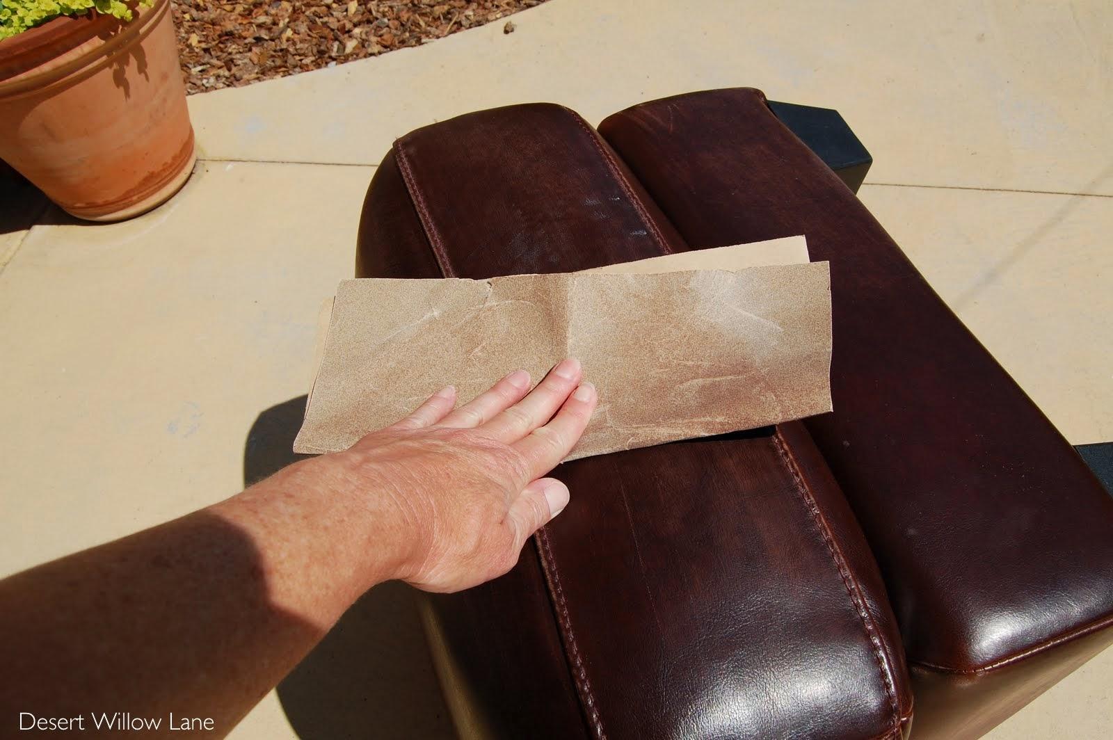 Diy Leather Belt Chair Lee Industries Distressing New Furniture Desert Willow Lane