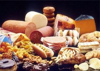 A ingestão de gorduras saturadas e as gorduras trans aumentam o acúmulo de gordura na parede das artérias
