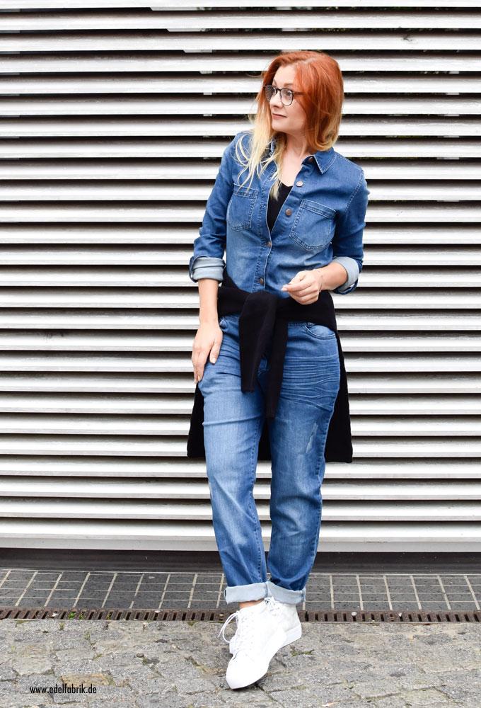 Heidi Klum Mode von Lidl, Jeans, Outfit mit Heidi Klum Mode für Lidl