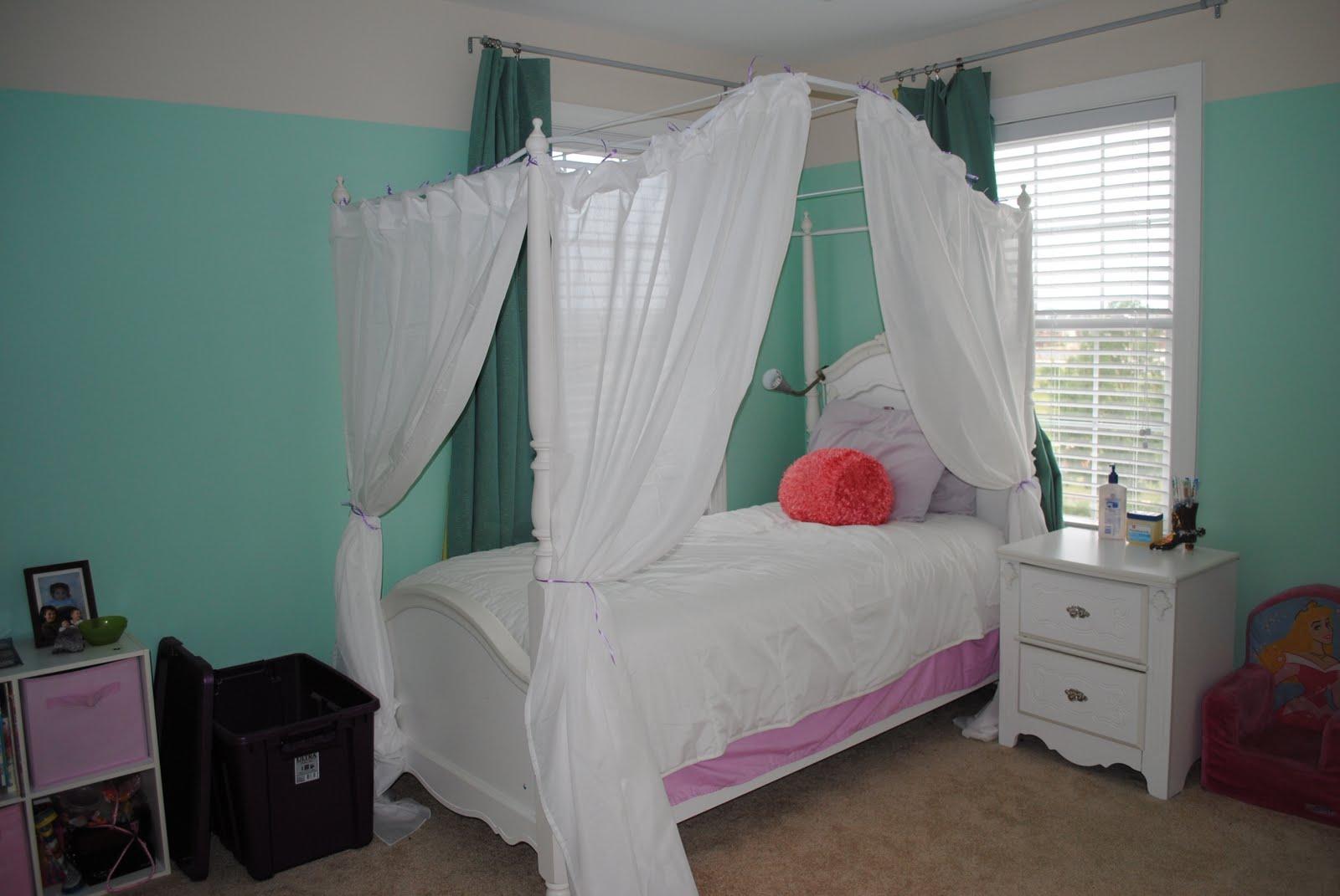 Adventures in diy princess bed for Princes bed