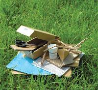 stages créatifs et formation, cours de loisir créatif, apprendre à fabriquer un meuble ou objet en carton recyclé.