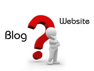 apa perbedaan website dengan blog?
