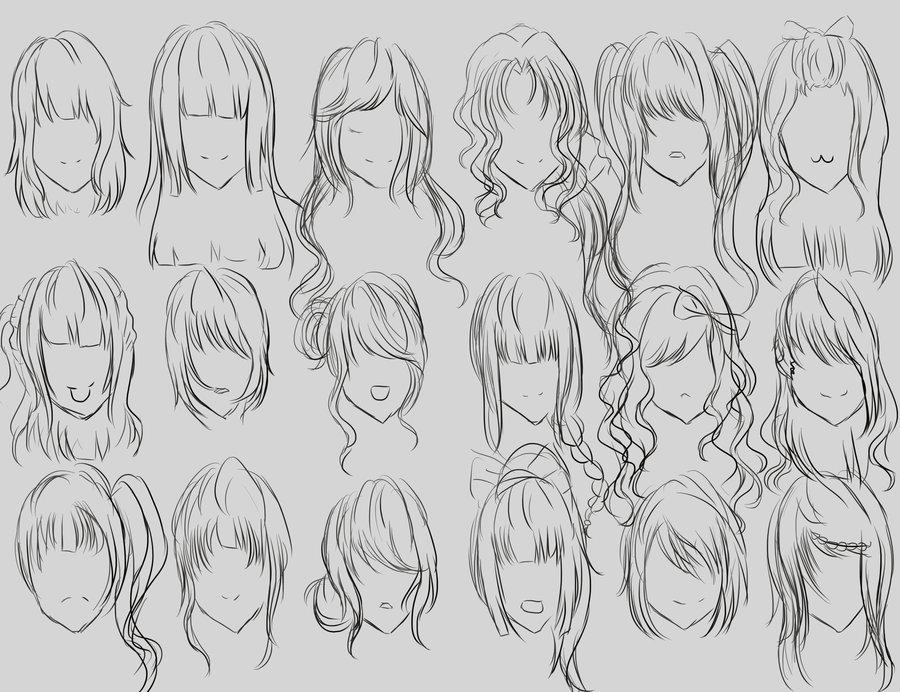 Hair Style References: Arte à Parte: Tipos De Cabelos