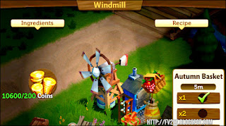 FarmVille 2 Country Escape, Windmill, Coins