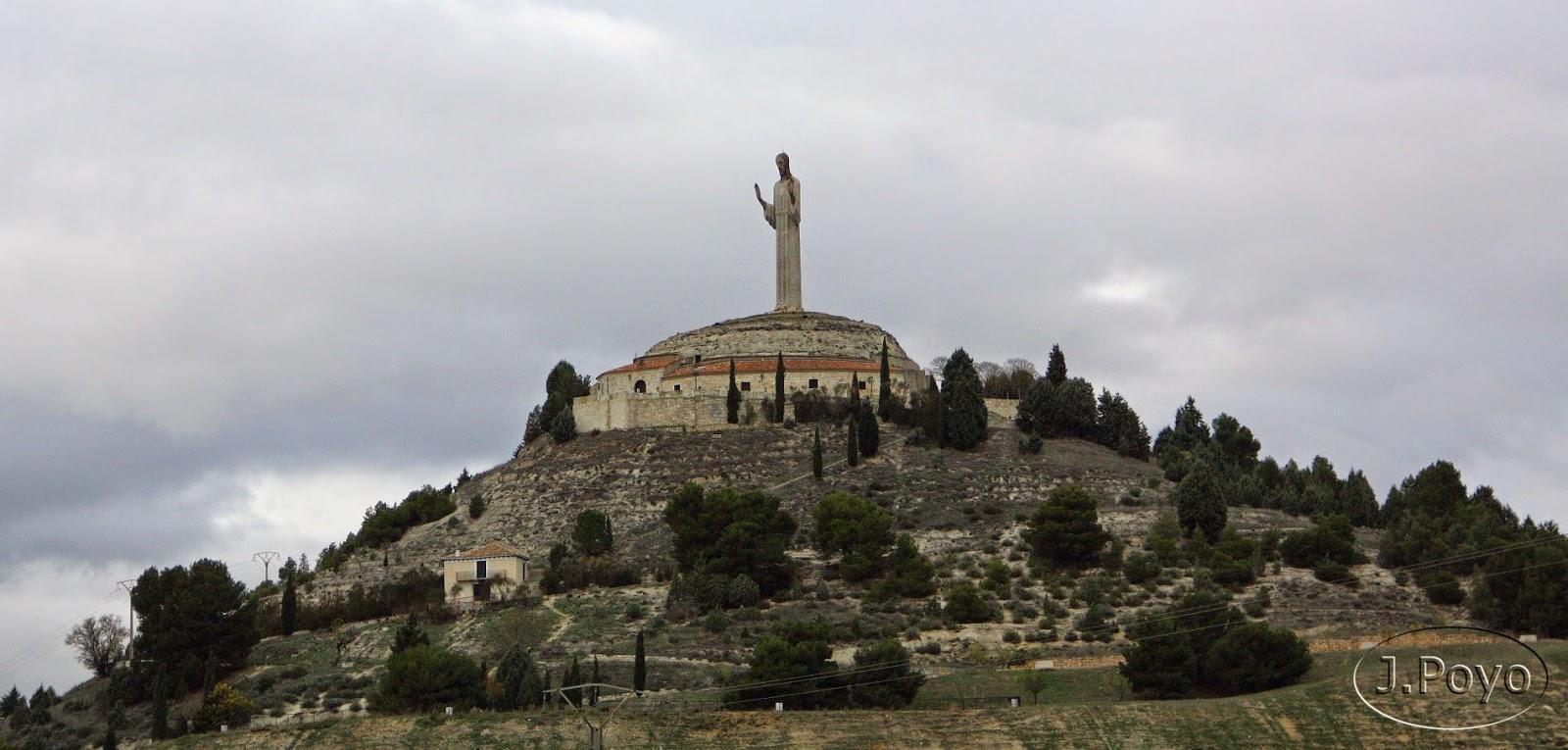 El Cristo y la ermita del Otero de Palencia