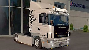 Scania 114L Holland truck mod