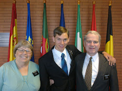 Alex with President and Sister Watkins