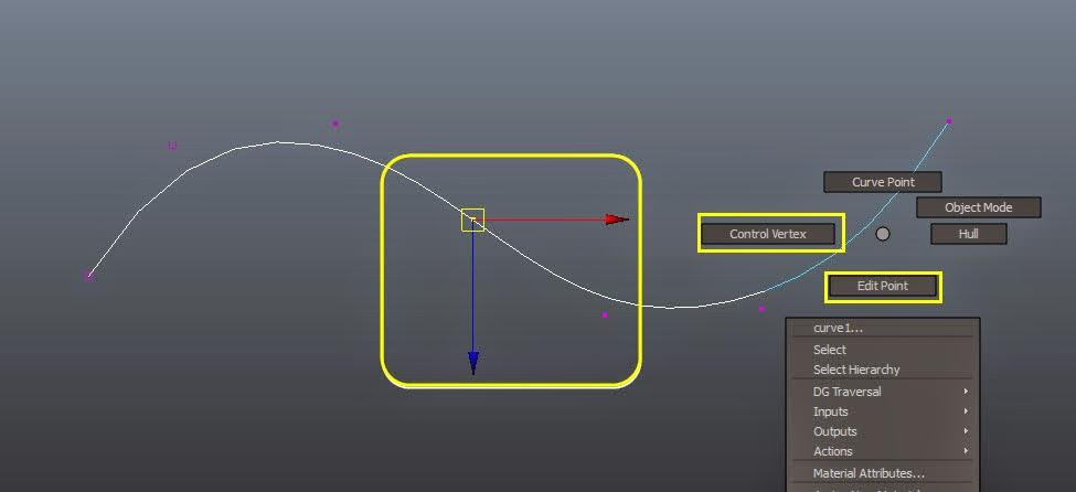 Modifying Curve Components in Maya : 認識與操作 Maya 曲線 - MGBoom