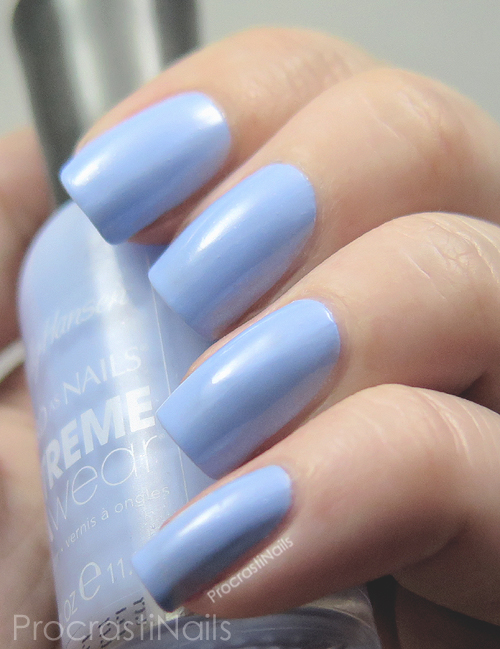 Sally Hansen Babe Blue swatch