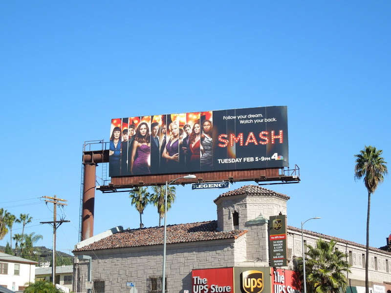 Smash season 2 billboard