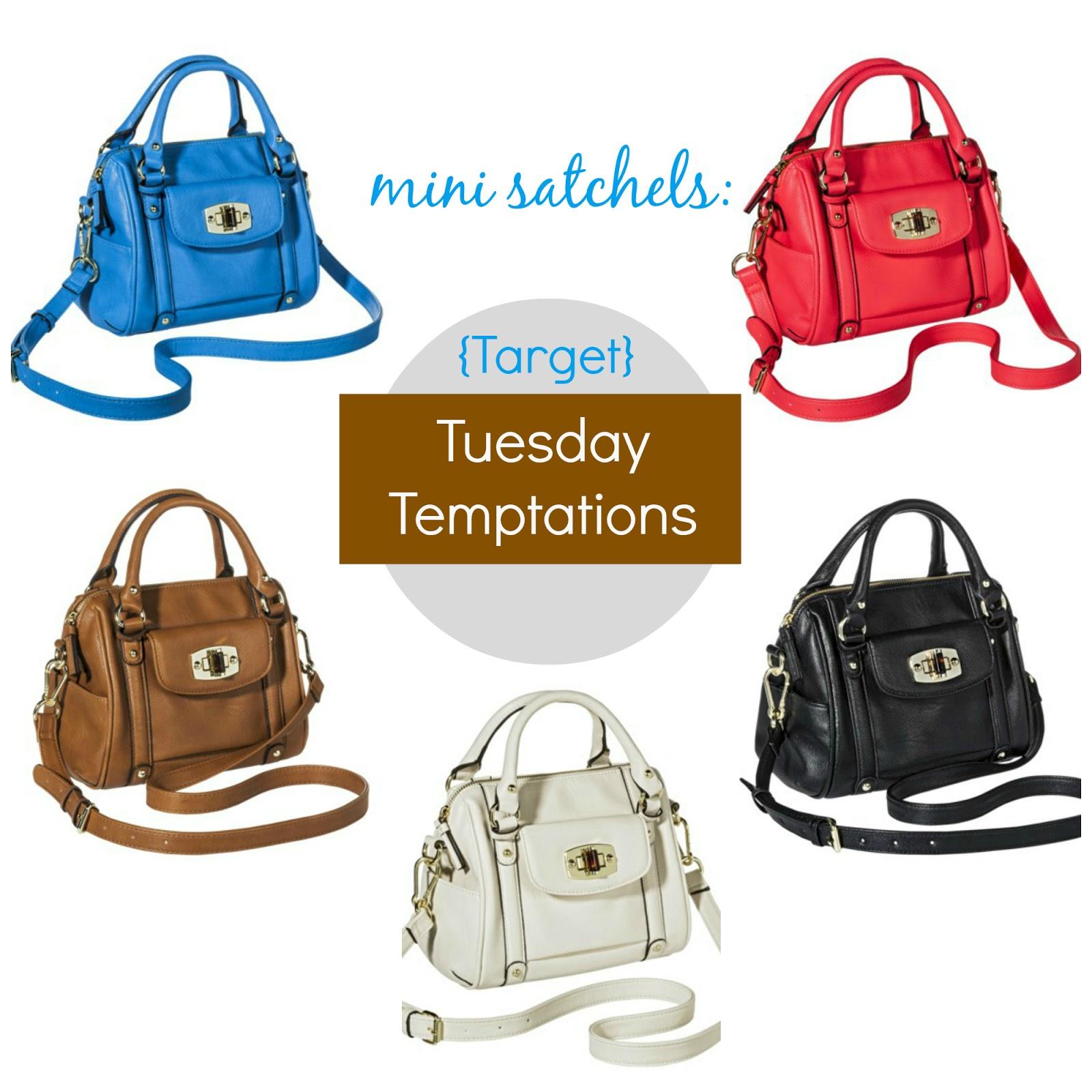 Target Tuesday Temptations Mini Satchel Handbags