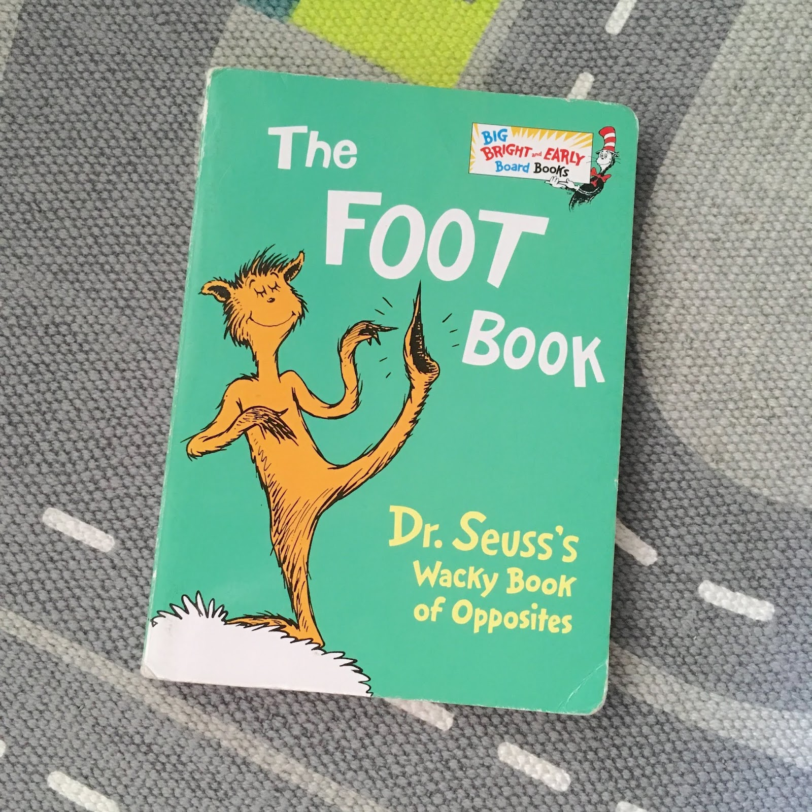 the foot book by dr seuss cover