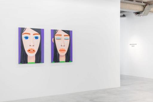 Almine Rech Gallery - Brian Calvin - States Installation View 4