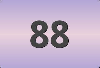 เลขท้ายสองตัวที่ออกบ่อย, เลขท้ายสองตัวที่ออกบ่อย 88
