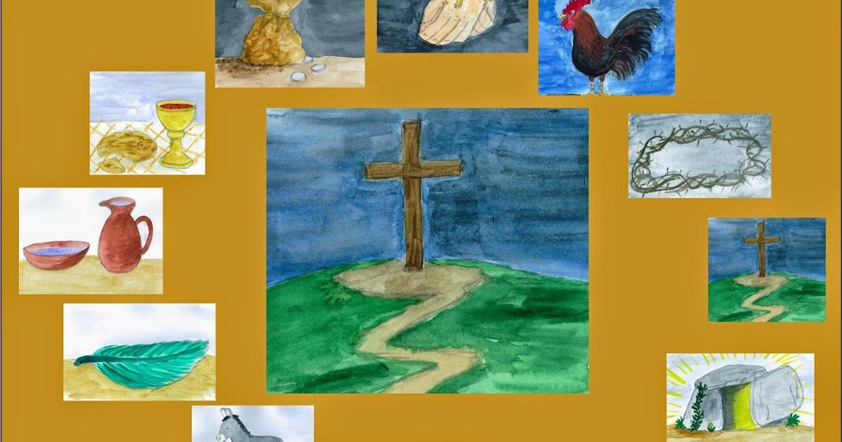 materialkiste ostern im religionsunterricht