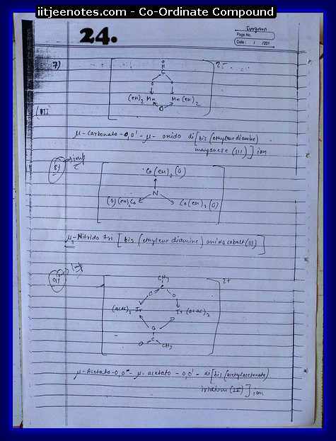 Coordinate Compound Notes9