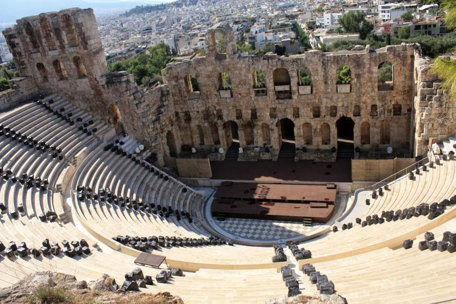 Theatre of Herodes Atticus in Athens