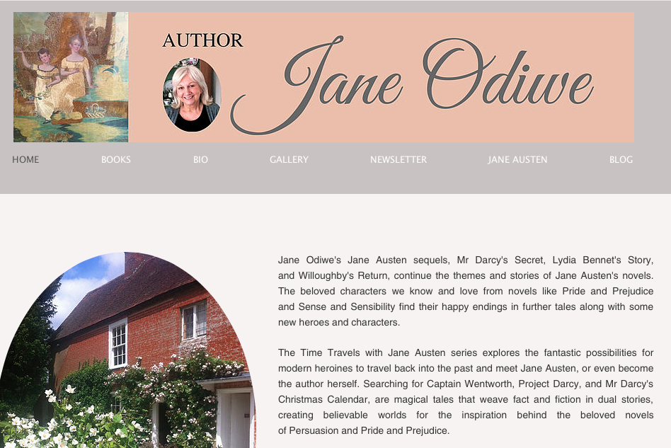 Jane Odiwe's Website