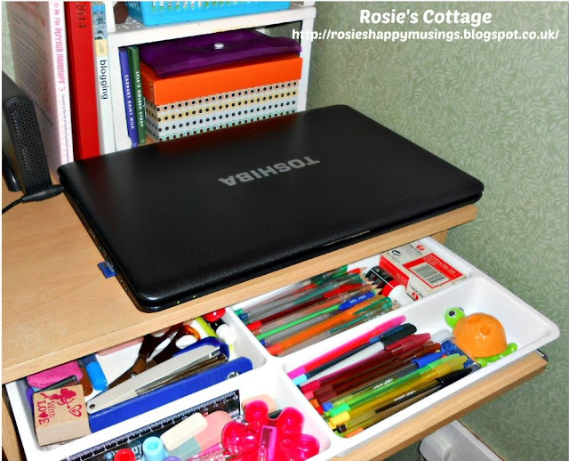 Ikea Stodja Cutlery Tray Makes A Perfect Stationery Organizer At A desk