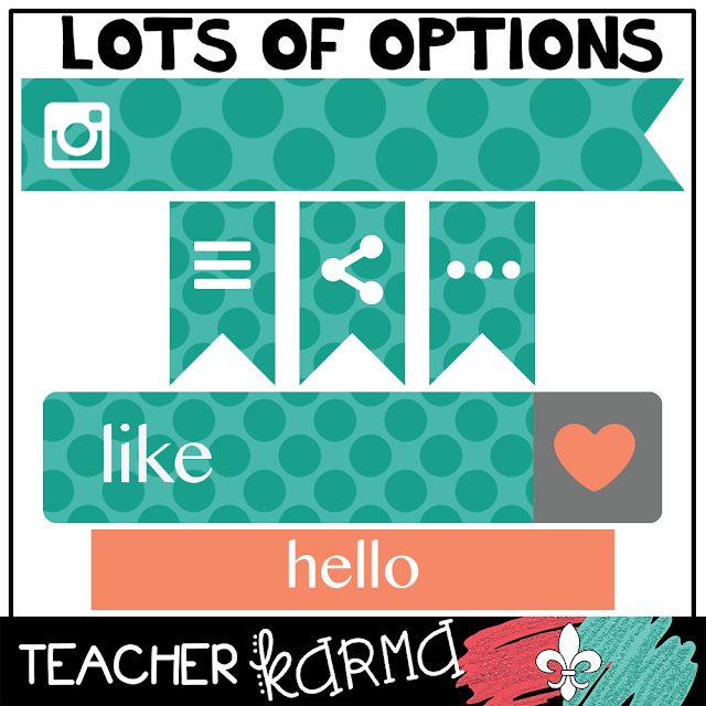 FREE blog elements graphics Teacherkarma.com