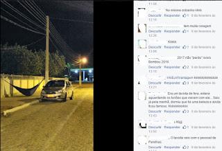Homem arma rede no meio da rua de um dos maiores carnavais da PB; imagem é sucesso em rede social