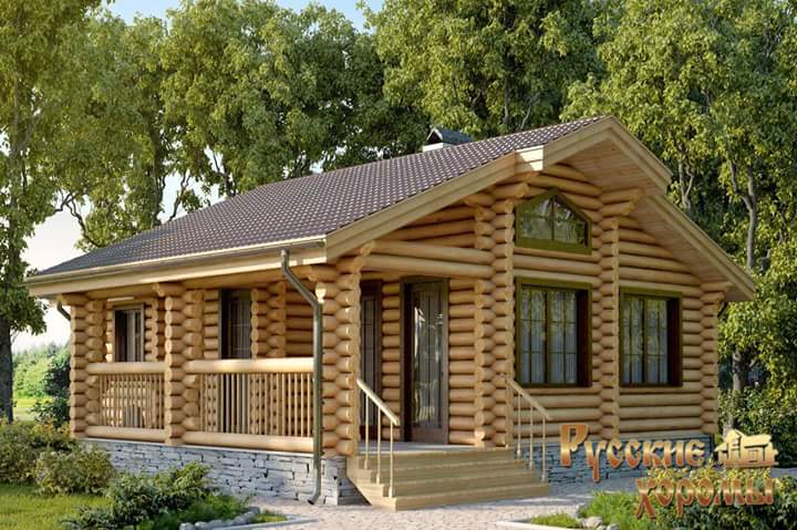 Cool Beautiful Simple Wood House And Log House Design Largest Home Design Picture Inspirations Pitcheantrous