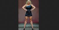 Female bodybuilder muscle woman