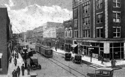 Helena Main Street early 1900s