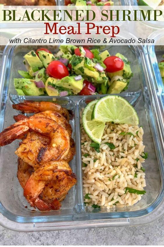 Blackened Shrimp Meal Prep