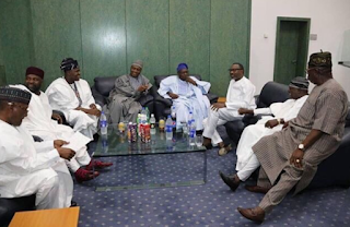 Obasanjo, Saraki, Dangote, Otedola and more in one photo