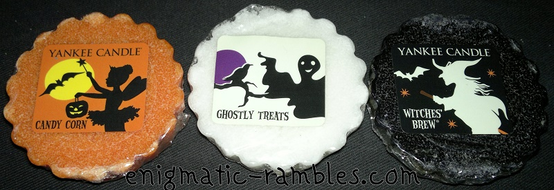 Yankee-Candle-Halloween-2014-Wax-Tart-Scents-candy-corn-ghostly-treats-witches-brew