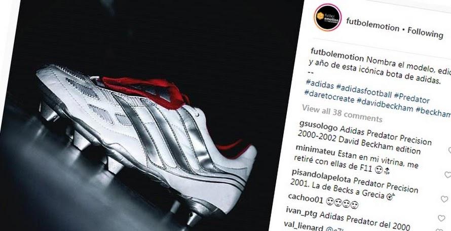 83089a8a521149 Adidas Predator Precision David Beckham 2019 Boots Leaked