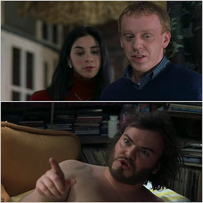 Sarah Silverman, Mike White et Jack Black dans Rock Academy (School of rock)