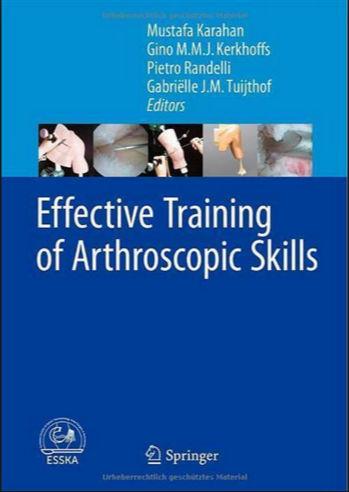Effective Training of Arthroscopic Skills PDF 2015