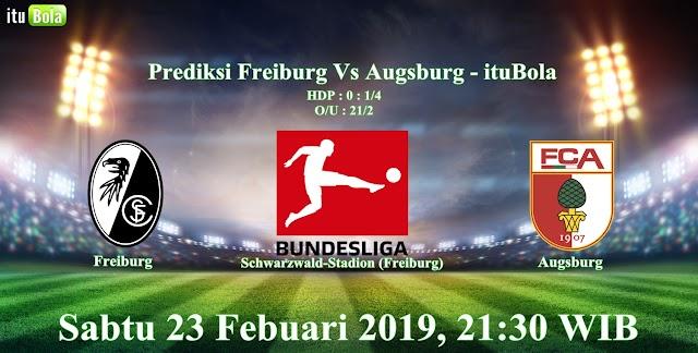 Prediksi Freiburg Vs Augsburg - ituBola