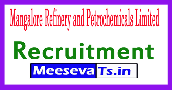 Mangalore Refinery and Petrochemicals Limited MRPL Recruitment Notification 2017