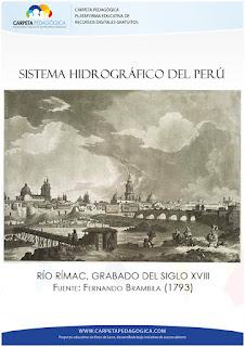 Río Rímac, Grabado del Siglo XVIII