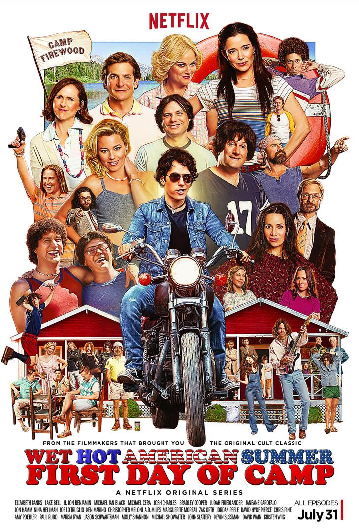 Wet Hot American Summer: First Day of Camp (2015) ταινιες online seires xrysoi greek subs