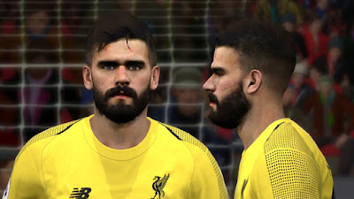 PES 2017 Faces Alisson Becker by BenHussam