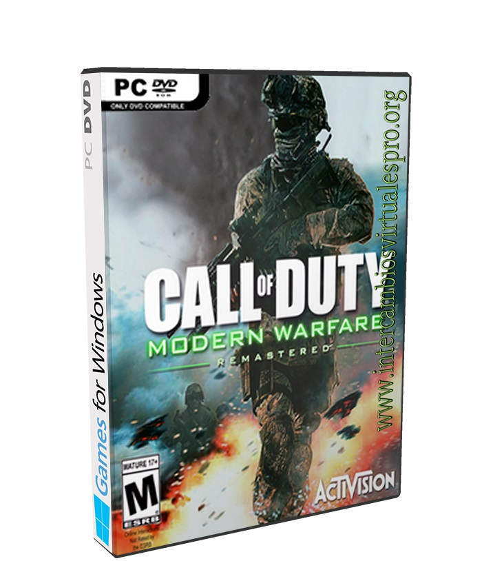 Call of Duty Modern Warfare Remastered poster box cover