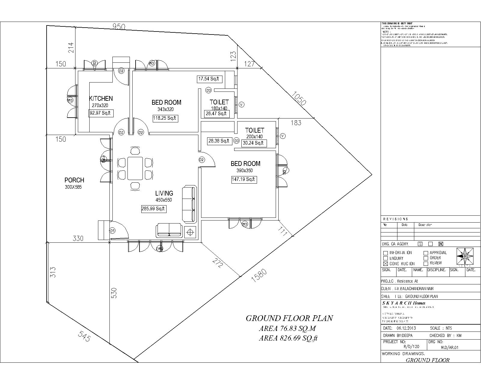 Kerala house construction tips 2 setting out plan and digging foundation for house construction ccuart Images