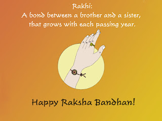 Short Raksha Bandhan Messages Shayari in Hindi English
