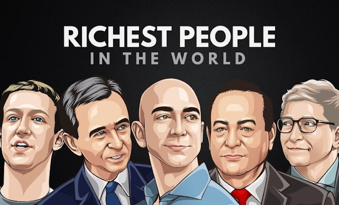 Top 20 World's Latest Richest Man in the World
