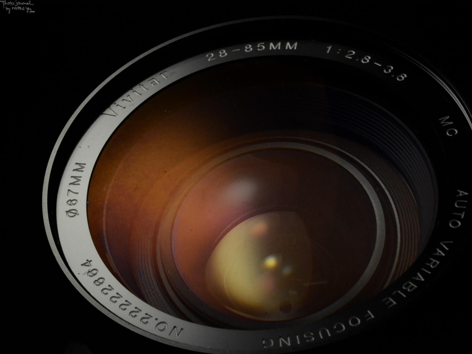 Vivitar 28-85mm f/2.8-3.8 MC Auto Variable Focusing (Kino Precision)