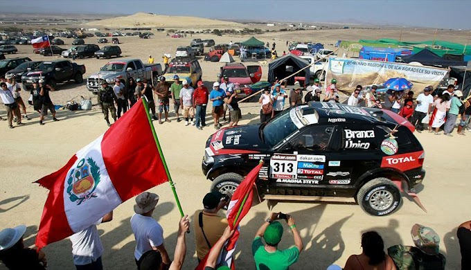 El Dakar 2019 será solo en Perú