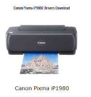 Download driver printer for Canon iP1980