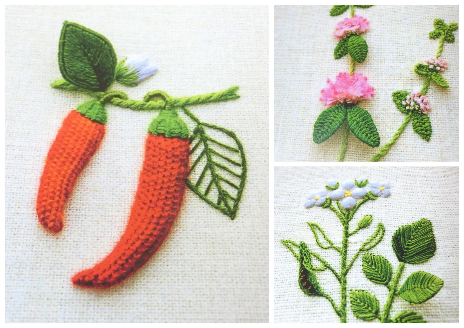 объемная вышивка, Сашико Моримото, Sachiko Morimoto,  книга Вышивка. Объемные цветы