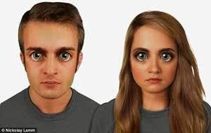 Membayangkan Wajah Manusia, 100.000 Tahun Mendatang