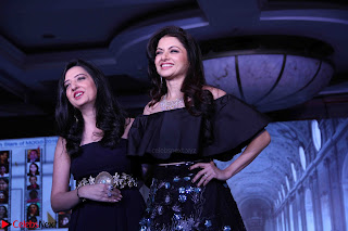Bhagyashree and Diana Hayden walks the ramp for Mumbai Obstetrics and Gynecological Society Annual Fashion Show 002.JPG